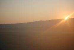 8h : le soleil se lève