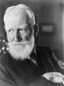 George Bernard Shaw (1856-1950, Nobel de Littératu