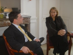 Avec Marie-Anne MONTCHAMP