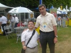 avec Eddy merckx