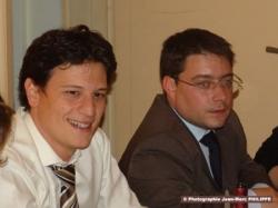 Avec Marc Haddad, président des jeunes populaires