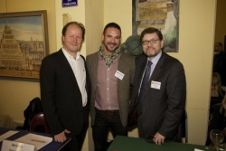 Trois heureux auteurs