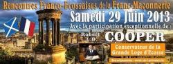 Rencontres franco-écossaises Marseille 2013