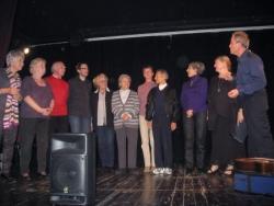 Le Cercle des poètes sur scène