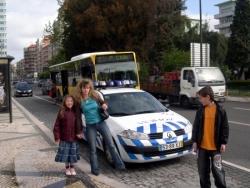 CARRO DA POLICIA LISBOA
