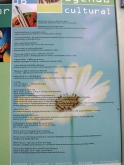 Programa cultural da camara de Pombal