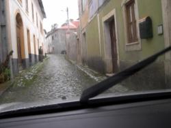 pequena rua na redinha