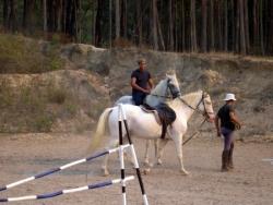 Rudolfo na festa do cavalo