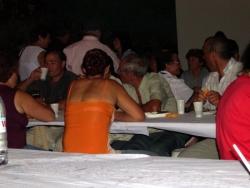 na hora do jantar