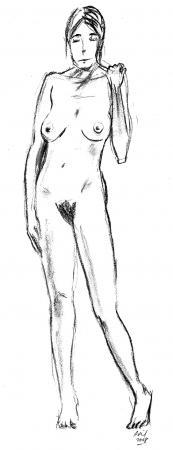 crayon sur papier - avril 2008