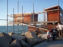 Pescara - les cabanes des pecheurs