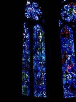 Le vitrail de Chagall