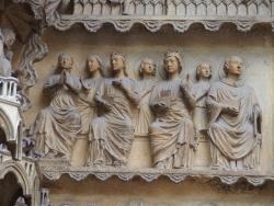 Le portail du jugement dernier-le Beau Christ