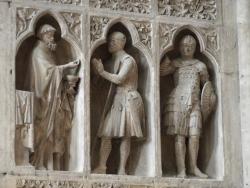 La communion du chevalier