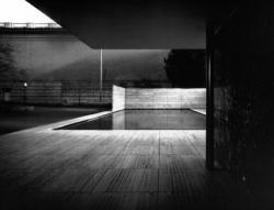 """""""Sténopé d'Architecture"""" Pavillon Mies van der Rohe. Barcelone"""