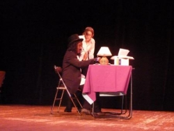 Le professeur et Betty
