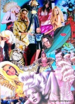 """Collages """"Pop art"""""""