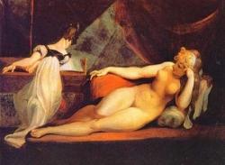 Femme nue au piano