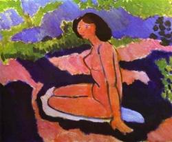 Nu assis de Matisse