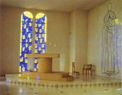 Intèrieur d'une chapelle