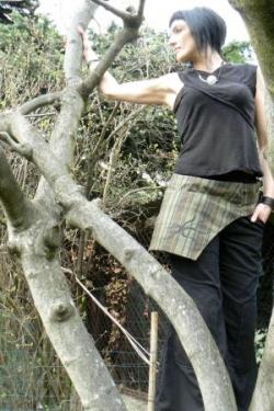 pantacourt en coton