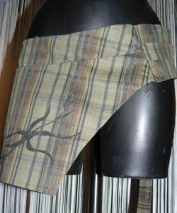 ceinture poche, fermée par scratch et boucle