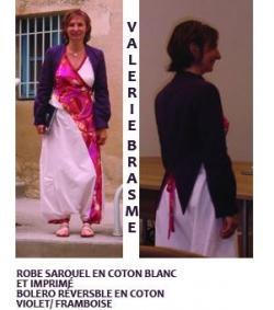 robe sarouel coton