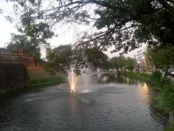 La rivière... notre point de repère dans la ville