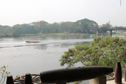 Vue sur la rivière Kwai