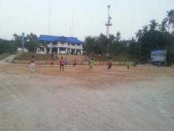 Nous avons même assisté à un match de foot :)