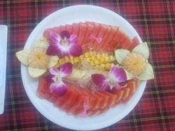 Mmmmm, un vrai régal ces fruits frais :)