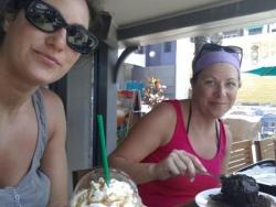 Petite pause au Starbucks...
