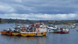 Le port de Dalcahue