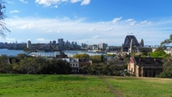 Vue du Harbour bridge Sydney