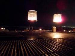 Sur la plage de Jimbaran diner bougies