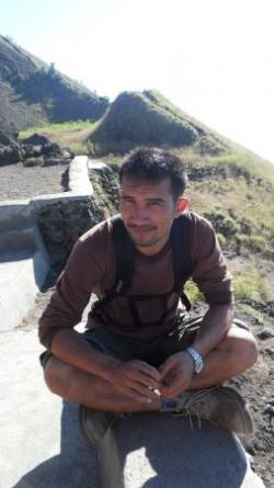 Wayan au Gunung Batur