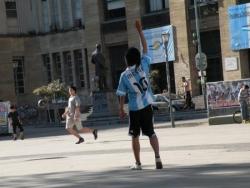 Messi à Buenos Aires