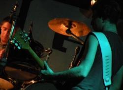 Guitarre et batterie