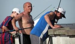 Pêcheurs de l'Aeroparque