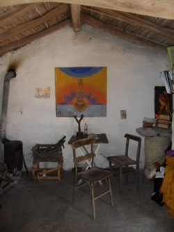 L'interieur du ranch