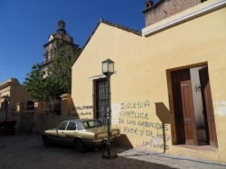 Graffitis denonciateurs