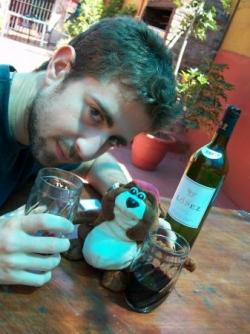 Norbert, Tuvos et la bouteille de Lopez