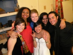 night at Beina's - 2010!