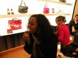Shopping/ make-up session!
