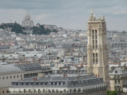 Tour Saint Jacques et Montmartre