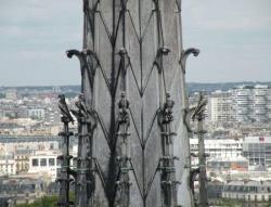 Clocher Notre Dame de Paris