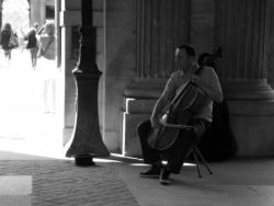 Contrebasse au Louvre
