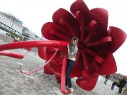 Dans la fleur