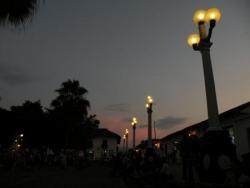 Crépuscule à Giron