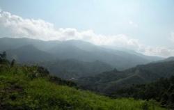 Les montagnes de Bucaramanga